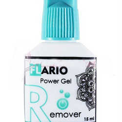 Гелевый ремувер Flario Power Gel, 15мл